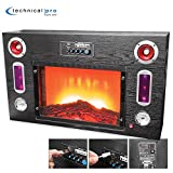 Electric Fireplace Bluetooth Entertainment Center