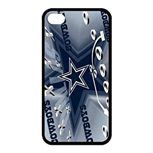Custom Dallas Cowboys NFL Series Back Cover Case for iphone 4,4S JN4S-1417