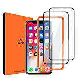 ZOVER Screen Protector Compatible with iPhone Xs iPhone X [2 Pack] Full Coverage