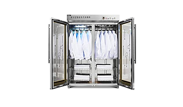 Esterilizadores Gabinete de Desinfección, Doble Puerta, Vertical, Adecuado para Peluquería, Salón de Belleza, Cocina: Amazon.es: Hogar