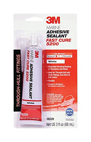 3M 05220 Marine Adhesive/Sealant Fast Cure 5200 by 3m Co.