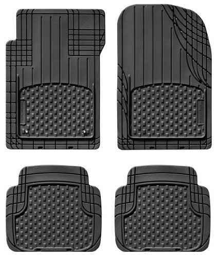 Weathertech Trim To Fit Front And Rear Avm  Black
