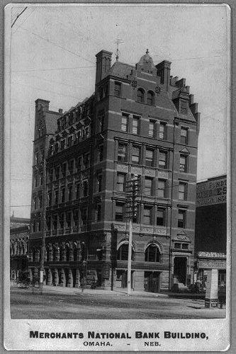 (Photo: Merchants National Bank,Omaha,NE,Douglas County,outside)