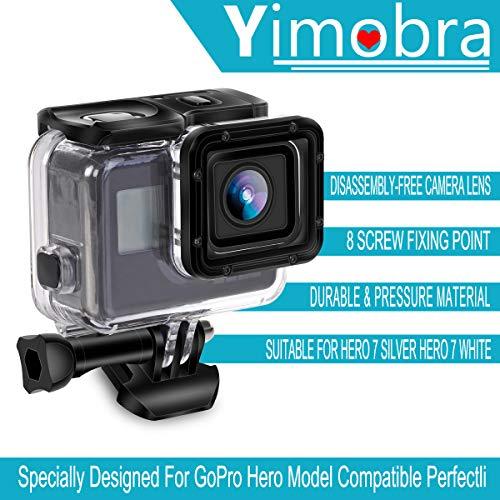 Amazon.com: Yimobra - Carcasa impermeable para GoPro Hero 7 ...