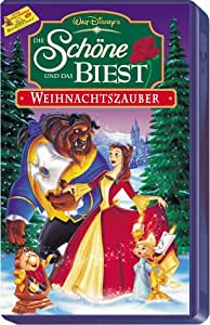 die sch ne und das biest weihnachtszauber alemania vhs paige o 39 hara robby benson. Black Bedroom Furniture Sets. Home Design Ideas