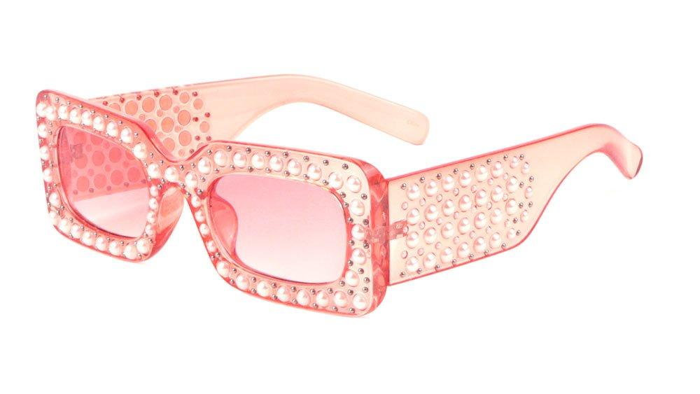 Sunglasses Luxe レディース B07DGKD594 ピンク ピンク -