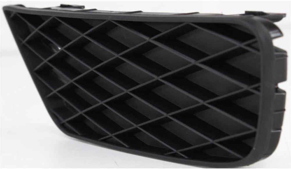 Fog Light Cover for Honda Civic 09-11 Lower Outer Black Sedan Left Side