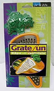 Grate Fun Stainless Steel For Carrots, Cheese, Chocolate, Onions, more