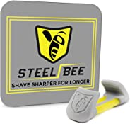 SteelBee Razor Saver | Anti-Rust Razor Protector | Blade Life-Extender | Travel Cartridge Cover | Corrosion-Preventing Attac