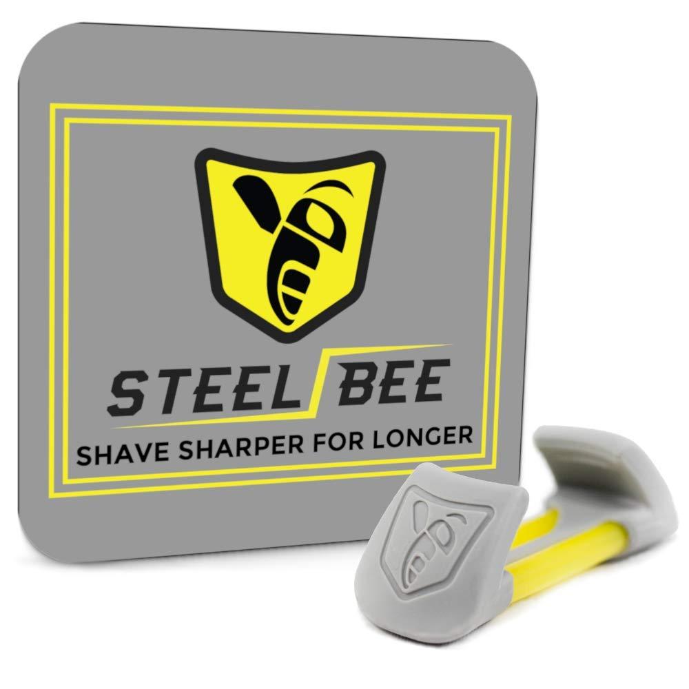 SteelBee Razor Saver | Anti-Rust Razor Cover | Blade Life-Extender | Travel Cartridge Protector | Corrosion-Preventing Attachment