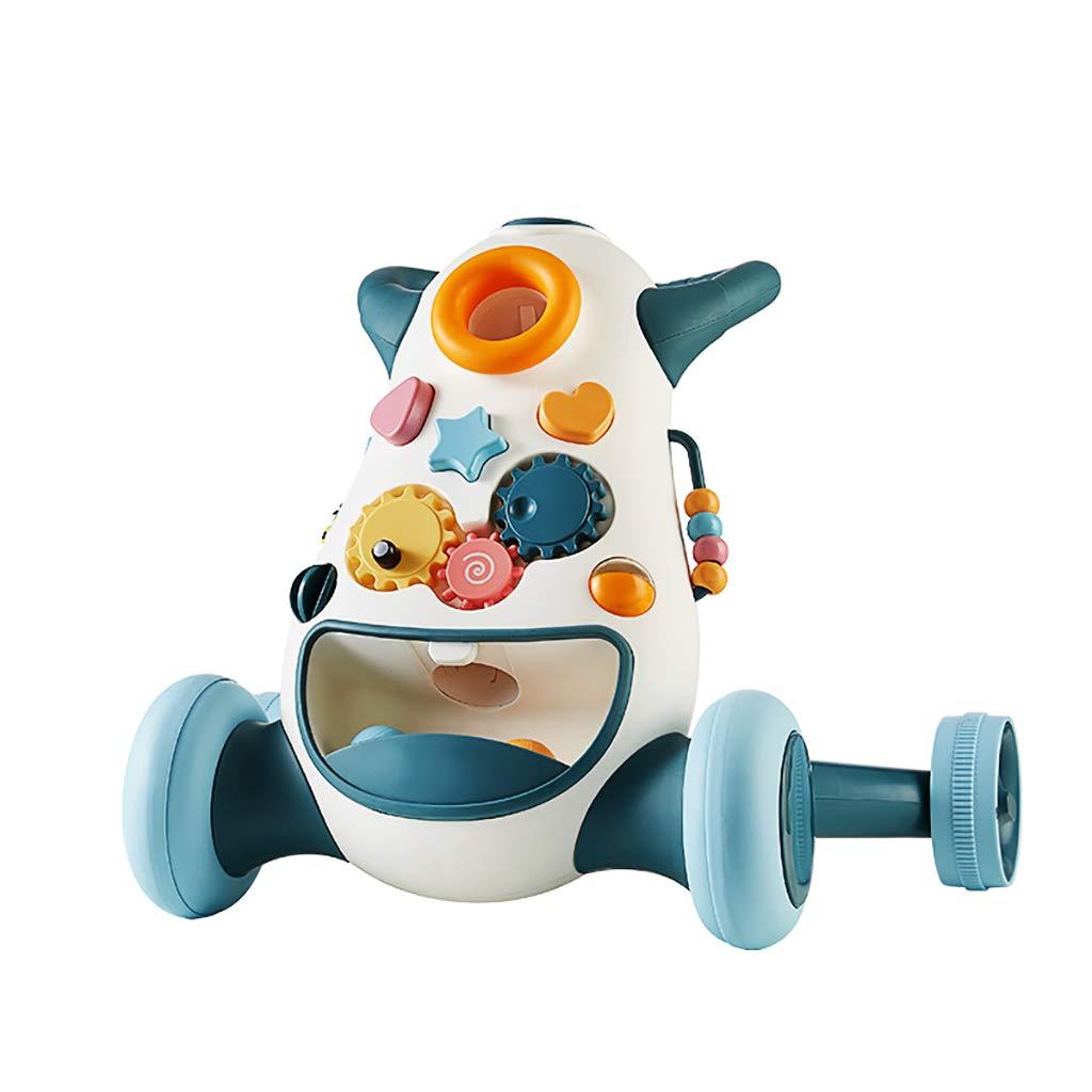 赤ん坊の歩行者のトロリー多機能調節可能な速度の歩行者、おもちゃを歩くことを学ぶ   B07QDVXWF8