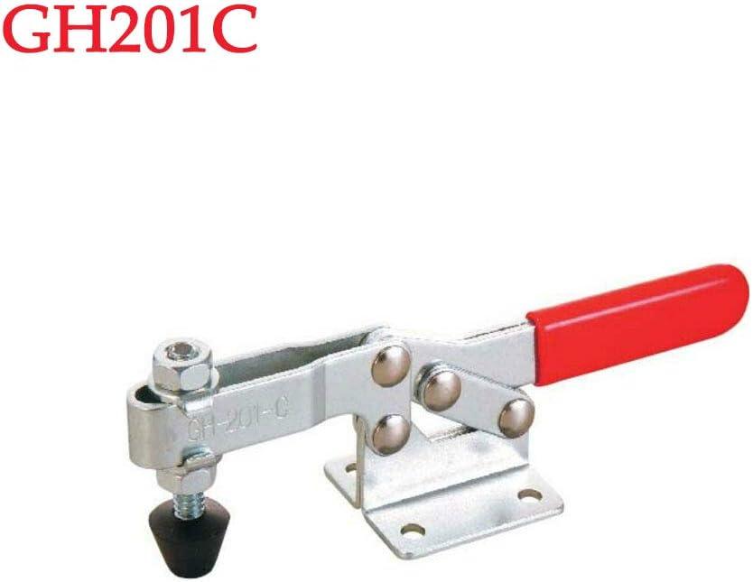 soudure Powertool Lot de 2 serre-joints /à bascule /à d/égagement rapide pour utilisation m/écanique argent menuiserie etc