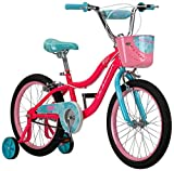 Schwinn Elm Girl's Bike with SmartStart, 18' Wheels, Pink
