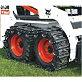TracksPlus Steel Skid-Steer Tracks for Bobcat 700 series, S130, S150, S175, S185 and S205 - 1 Pair, Model# T-1000B/34