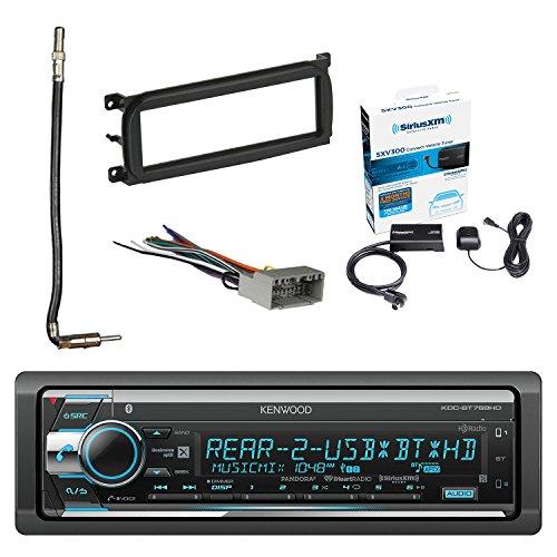 Kenwood Single Din Cdamfm Car Audio Receiver Wbluetooth With Siriusxm Satellite Radio Connect Vehicle Tuner Kit Metra Dash For Chrydodgejeep: Sirius Radio Wiring Harness At Sewuka.co