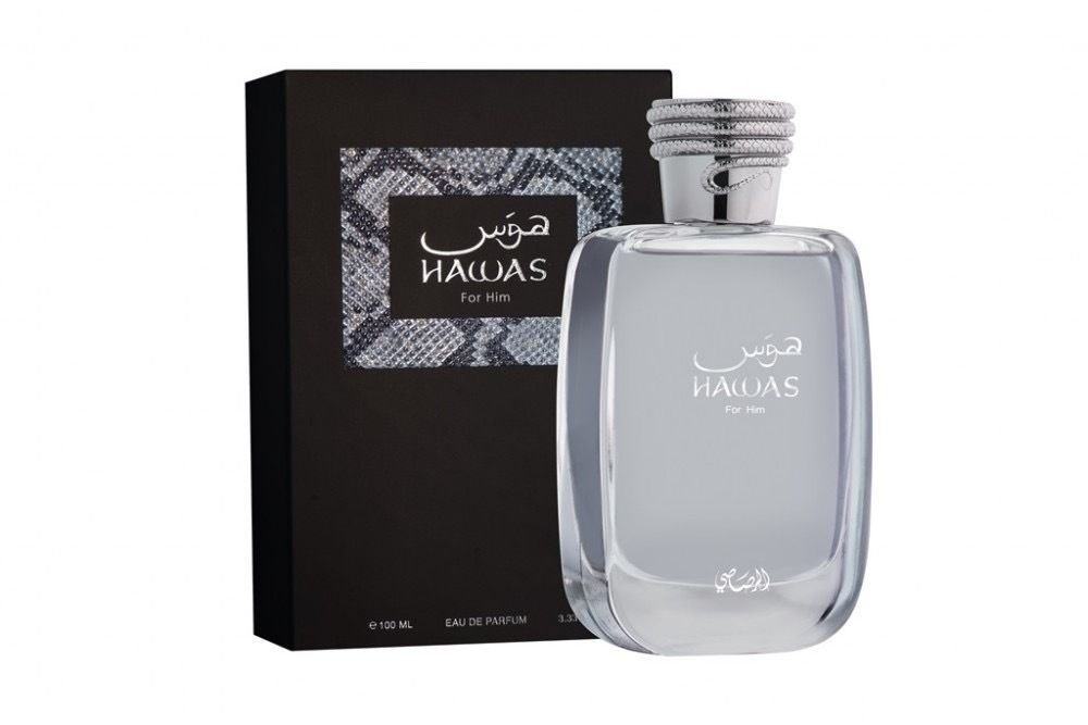 Hawas for him and her Couple gift by Rasasi perfumes 100ml Eau de Parfum - USA Seller
