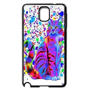 Head Case Designs Yellow and Orange Printed Cats Gel Back Case Cover For Samsung Galaxy NOTE3 Case Cover GHLR-T379536