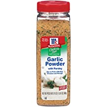 McCormick California Style Coarse Grind Blend Garlic Powder with Parsley, Garlic Flavor, 24 oz