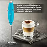 Zulay Original Milk Frother Handheld Foam Maker for Lattes - Whisk Drink Mixer for Bulletproof Coffee, Mini Foamer for Cappuccino, Frappe, Matcha, Hot Chocolate by Milk Boss