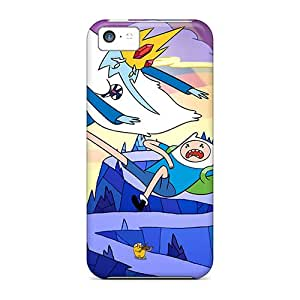 New Arrival Adventure Time Kick For Iphone 5c Cases Covers