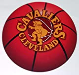 FATHEAD Cleveland Cavaliers Team Basketball Logo Official NBA Vinyl Wall Graphic 11''x11'' INCH