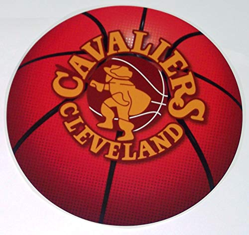 FATHEAD Cleveland Cavaliers Team Basketball Logo Official NBA Vinyl Wall Graphic 11''x11'' INCH by FATHEAD