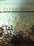 Writing Expository Paragraphs : Enabling Writing Activies and Grammar Exercises, Sosseh, Hayib N., 0757577946