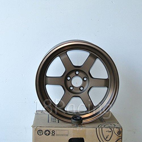4 PCS ROTA GRID WHEELS V 17X9 5X100 42 73 SPEED BRONZE - Rota Wheel