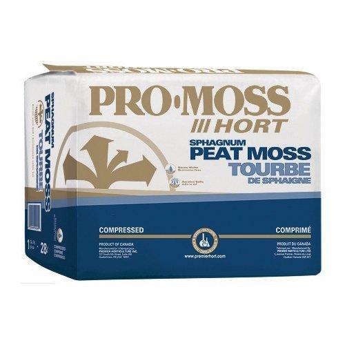 Premier Horticulture 0280P Pro Moss Horticulture Retail Peat Moss, 1 Cubic Feet - 0262P by PREMIER HORTICULTURE