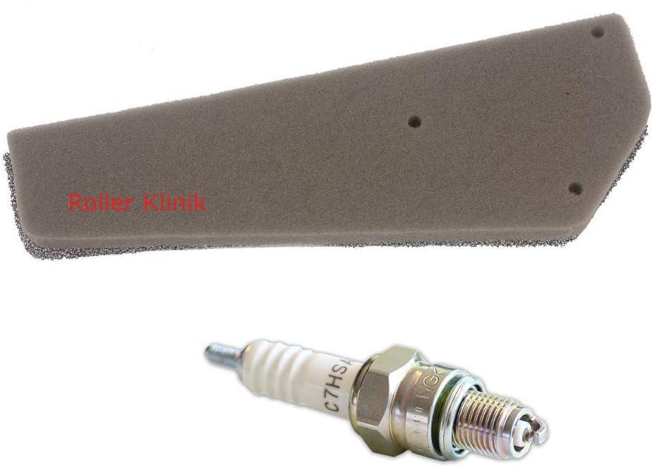 Zündkerze C7hsa Filtereinsatz Luftfilter 4 Takt 50 Ccm Roller Baotian Znen Benzhou Auto