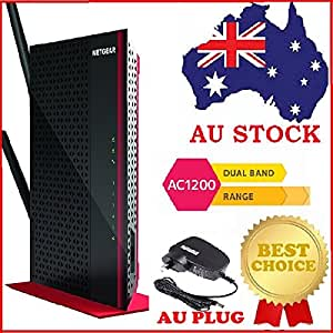 Netgear EX6200 AC1200 Dual Band Wireless Gigabit Range Extender WiFi Booster AU