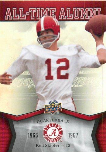 2012 Upper Deck Alabama All Time Alumni #ATAKS Ken Stabler - Football Card