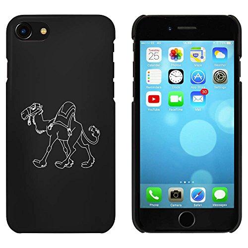 Noir 'Chameau' étui / housse pour iPhone 7 (MC00060779)