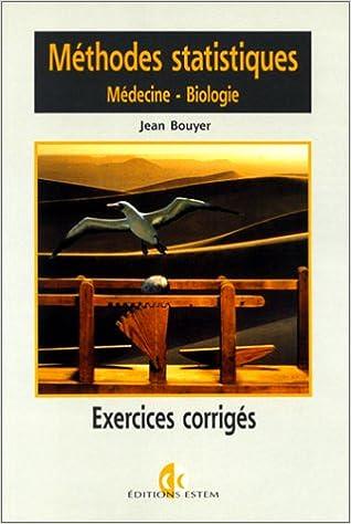Méthodes statistiques, exercices