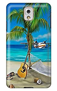 Some Beach Somewhere PC Hard new case for samsung galaxy note3 for girls