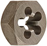 Drill America DWT Series Qualtech Carbon Steel Hex Threading Die, M7 x 0.75 Size (Pack of 1)