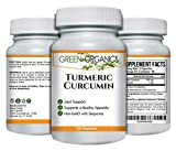 Turmeric Curcumin to Support Joint Comfort & Mobility – Natural Anti-inflammatory – Helps Soothe Aching Joints, Hips, and Pain Throughout Body – 1000mg – 120 Capsules For Sale