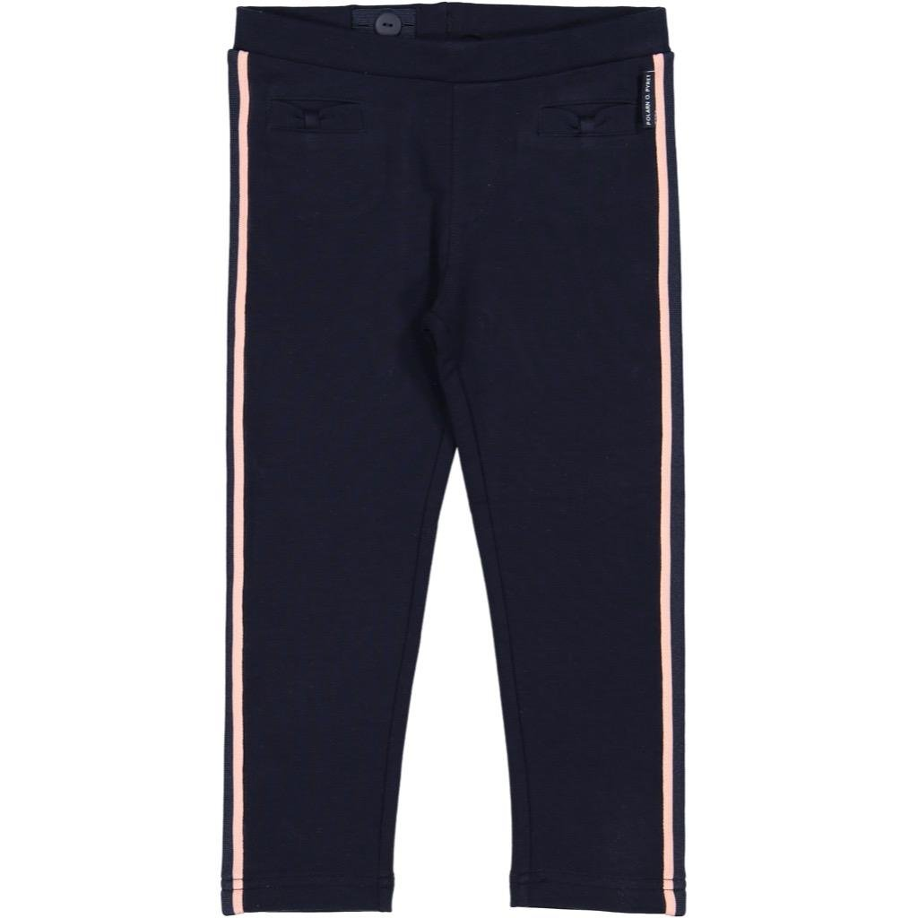 Polarn O. Pyret City Chic Track Pants (2-6YRS) - 2-3 Years/Dark Sapphire