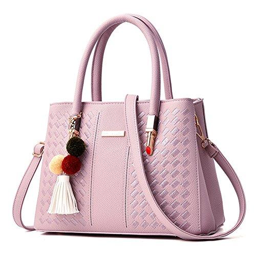 WeiYiTao - Bolsa Mujer Rosa