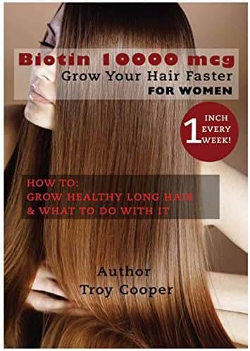 Biotin 10000 mcg: Grow Your Hair Faster