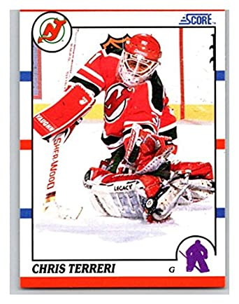new arrival fd6db 8fc5e Amazon.com: Hockey NHL 1990-91 Score #239 Chris Terreri #239 ...