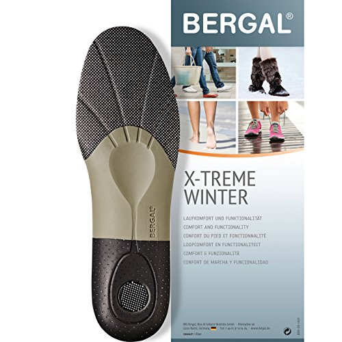 Bergal X-TREME Winter - Einlegesohlen - anatomisch geformtes Fussbett Gr. 42