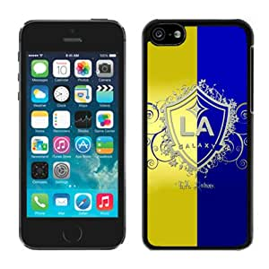 Fashionable And Antiskid Designed iPhone 5C Case MLS Los Angeles Galaxy For iPhone 5C Protective Skin Cover Case 11 Black