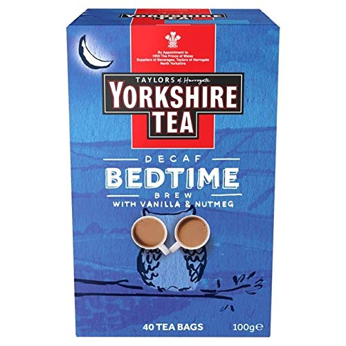 - Taylors of Harrogate Yorkshire Tea Bedtime Brew 40 tea bags, 100g