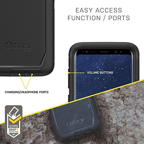 OtterBox DEFENDER SERIES SCREENLESS EDITION for Samsung Galaxy S8+ - Retail Packaging - BLACK by OtterBox (Image #5)