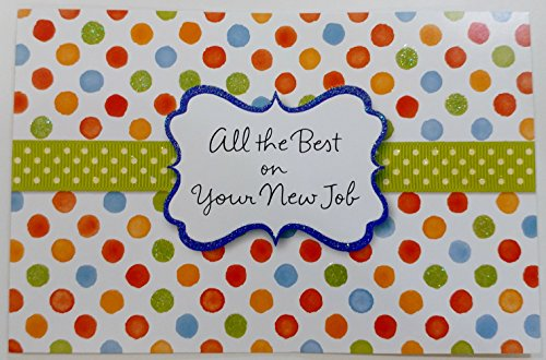 All the Best on Your New Job Greeting Card - Congratulations Success