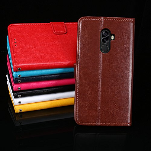 Ulefone S8 Pro Funda Faux Cuero Billetera Funda para Ulefone S8 Pro con Stand Función(Azul) Rosa roja