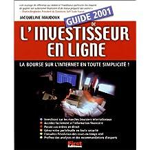 GUIDE DE L'INVESTISSEUR EN LIGNE 2001