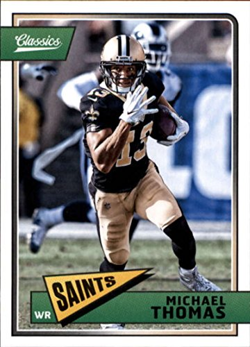2018 Classics Football #64 Michael Thomas New Orleans Saints Panini NFL Card