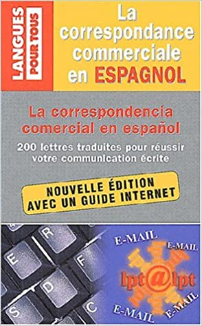 Livres gratuits en ligne Correspondance commerciale en espagnol pdf epub